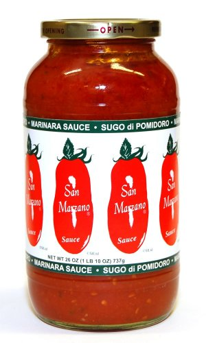 (San Marzano - Sugo di Pomodoro Marinara Sauce, (6)- 24 oz. Jars)
