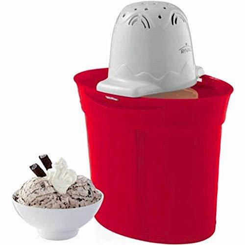 Rival Frozen Delight 4-Quart Ice Cream Maker RED