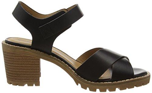 New Look 3685424, Sandalias con tacón Mujer Negro (01/Black)