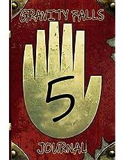 Gravity Falls Journal 5: Gravity Falls Prop Book Journal | Gravity Falls Journal 1 2 3 Fan Edition Diary | Back To School Notebook