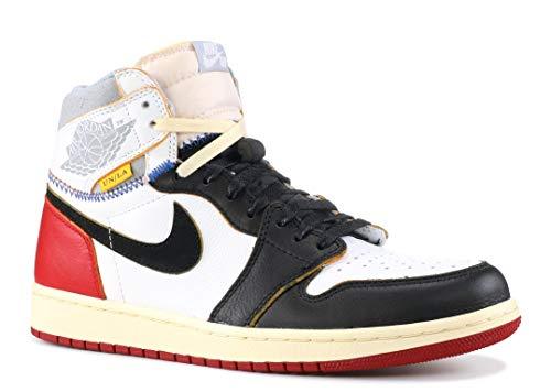 Air Jordan 1 Retro Hi Nrg/Un 'Union' - Bv1300-106 - Size 10 White, Black-Varsity Red]()