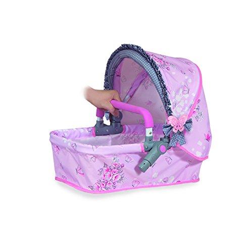 Amazon.es: DeCuevas Toys - Muñeca Maria, coche plegable 3 en 1: Juguetes y juegos