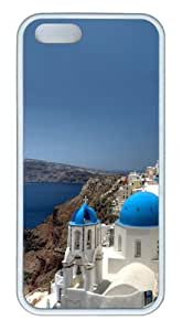 iPhone 5S Case, iPhone 5S Cases -Santorini Custom TPU Soft Case Cover Protector for iPhone 5/5S ¡§C White