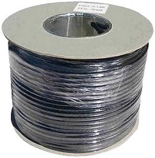 Webro - Cable coaxial (50 m, RG6, digital, para antena y televisión