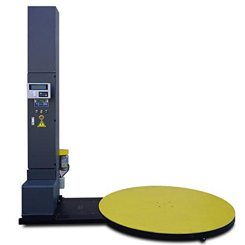 New 5000lb Electric Stretch Wrap Machine w/ Built-in Scale and Label Printer (Stretch Wrap Machine)