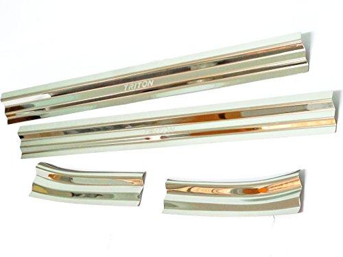 New Sill Scuff Plate 4 Doors for Mitsubishi Triton L200 Mn Ml Pickup 2005-2010 06 07