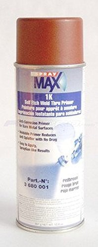 Spray MAX 1k Self Etch Weld-Thru Primer (Red Brown) - 3680001