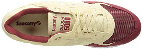 40 5000 Size 101 SHADOW S70033 CREAM SAUCONY RED p60PvBqn