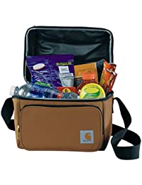 Deluxe Dual Compartment Insulated Lunch Cooler Bag, Carhartt Brown