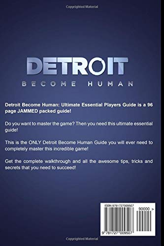 Detroit Become Human Ultimate Players Guide Amazonde Digidiz