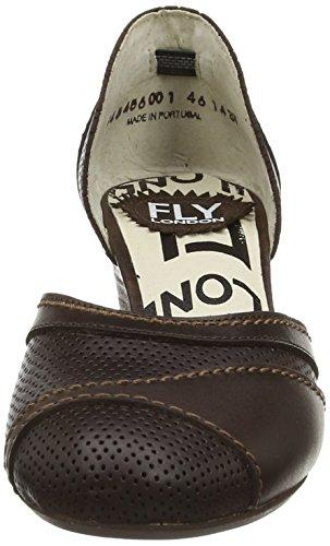 FLY London Klee - Zapatos Mujer marrón - Brown (Dk Brown)