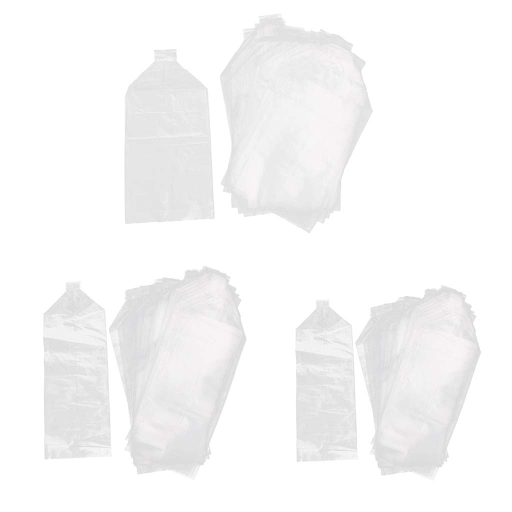 Kesoto Pack of 150 Aquarium Fish Tank Small Fish Shopping Bag Fish Shrimp Storage Pouch