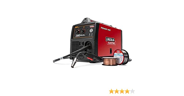 lincoln electric power mig® 180 dual mig welder k3018 2 toolslincoln electric power mig® 180 dual mig welder k3018 2 tools products amazon com