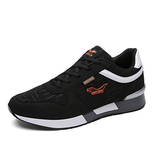 Sport De Plein Air Pour Hommes Chaussures De Marche Légère Sneakers Occasionnels 399 Bleu Foncé