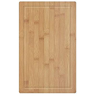 18 X 11.8 Inch Bamboo Cutting Board With Juice Groove