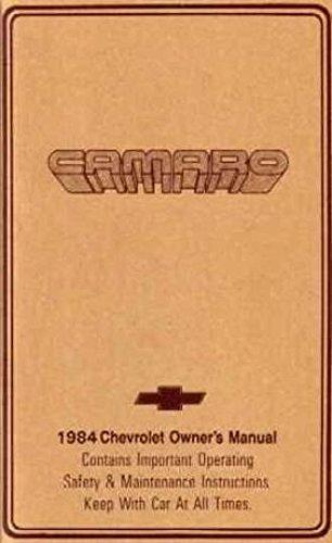1984 camaro repair manual - 7