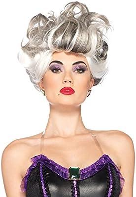 MyPartyShirt Ursula Peluca La Sirenita de Disney para Mujer ...