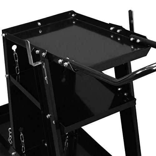 XtremepowerUS HD Welding Cart Universal MIG MAG ARC TIG Machine Welders Home Garage Shop + Safety Chain by XtremepowerUS (Image #2)