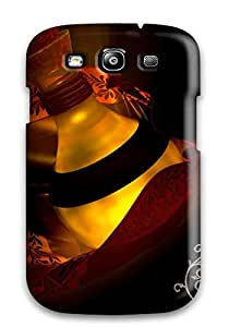 New Style New Fashionable Cover Case Specially Made For Galaxy S3(the Elixir Red Black Light Bottle Glass Mistery)