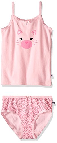 Kitty Cami (Girls' 2 Piece Organic Cami/Panty Set (4-5 years) - Kitty)