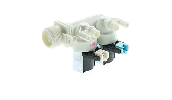 Spares2go Válvula de Entrada de Agua eléctrica lavadoras Indesit ...
