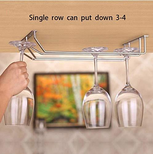 Wine Glasses Holder,Under Cabinet Stemware Wine Glass Rack Storage Holder 13.4 Inch Set of 2 Convenient collection Hanging Rack