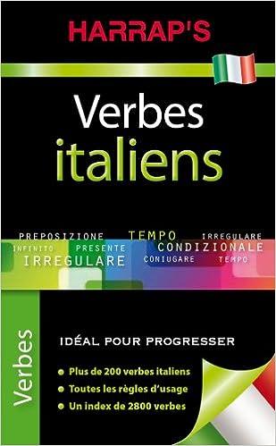 Amazon Fr Harrap S Verbes Italiens Collectif Livres
