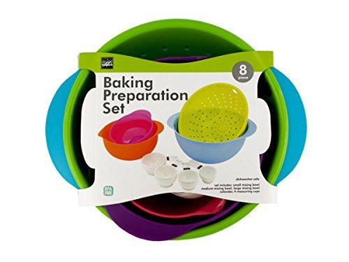 Handy Helpers Baking preparation set with 8 pieces (Free 3 Xtra scrubbing sponges) by Handy Helpers
