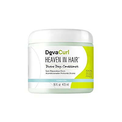 DevaCurl Heaven in Hair Intense Moisture Treatment, Curly Hair, Paraben and Silicone Free
