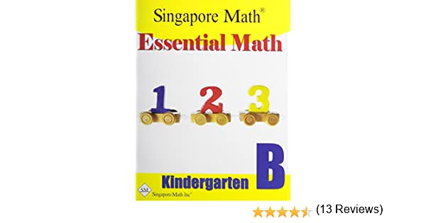 Essential Math Kindergarten B: 9781932906158: Amazon.com: Books