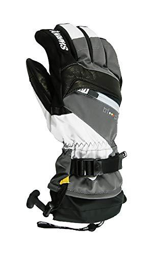 Swany X-Change Junior Gloves, Dark Grey/Light Grey, -