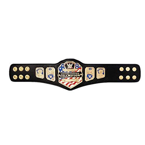 Wwe Us Replica - WWE Authentic Wear United States Championship (2014) Mini Replica Title Belt