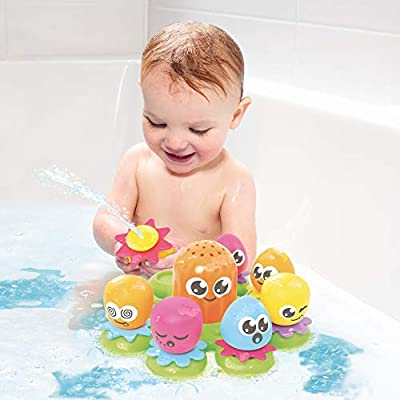 Toomies Floating Island, Octopals Bath Toy: Toys & Games