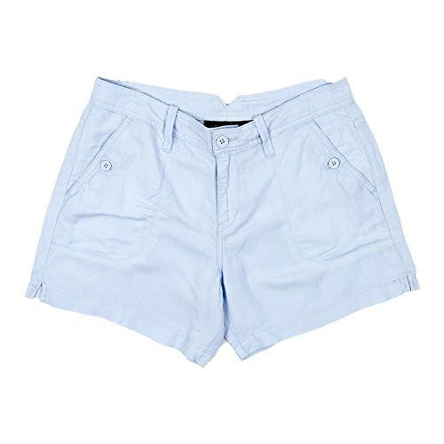 Calvin Klein Jeans Women's Linen Shorts, Sapphire Ice, 8