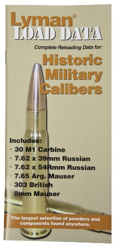 Lyman Load Data Book Old Military Caliber