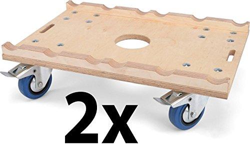 3 und 4-Punkt 290mm Traversen 2 x Riggatec Rollwagen Multiplex f/ür 2