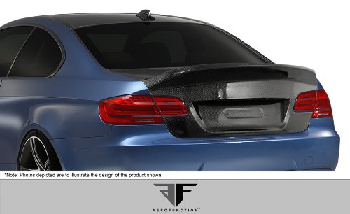 - Aero Function ED-FVQ-285 AF-1 Trunk Lid (CFP) - 1 Piece Body Kit - Compatible For BMW 3 Series 2007-2013