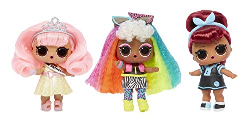 LOL Surprise Hairgoals Makeover dolls are popular toys for girls age 6 to 8 in 2019