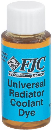 FJC 4926 Universal Radiator Coolant Dye - 1 oz. (Coolant Leak Detection)
