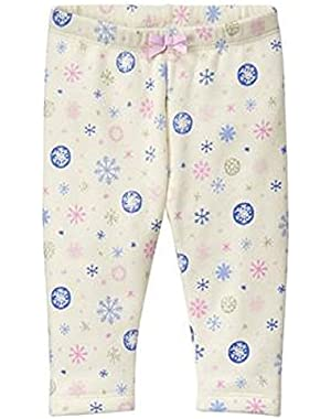Baby Girl Cozy Fleece Snowflake Legging