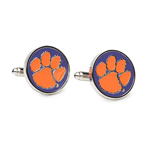 AdSpec NCAA Clemson Tigers Mens Cufflinks ()