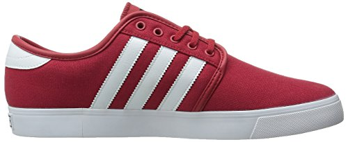 adidas Originals Mens Seeley Lace Up Shoe Scarlet/White/Black argFOp6fY