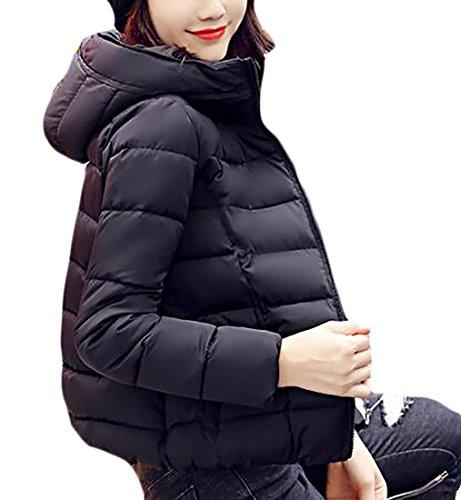 Coat Down Packable Short today Black Women's Weight UK Hooded Jacket Down Light Ultra 8AOPqBA1