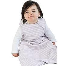 Baby Sleep Bag or Sack from Woolino, 4 Season, Merino Wool, Basic Infant Sleep Bag, 6-18m, Lilac