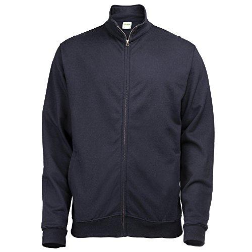 AWDis Hoods Fresher full zip sweatshirt New French Navy L
