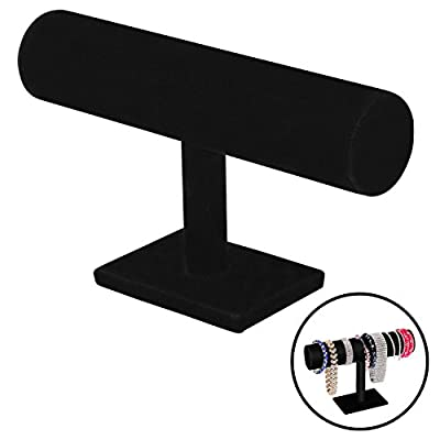 Jewelry Stand   Elegant Design Woman Accessories Display Stand   Durable Practical Fashionable Deluxe Composite and Flannel Bracelet Holder