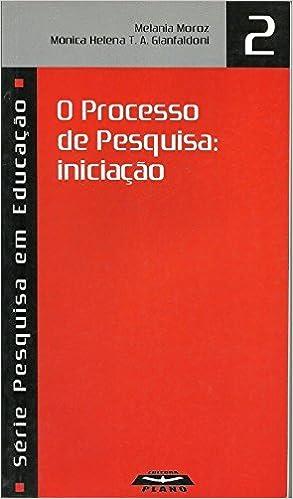 Book O Processo De Pesquisa