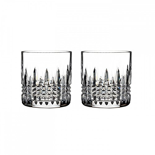 Waterford Crystal Lismore Diamond 7oz Straight Sided Tumbler, Pair (Straight Sided Glass)