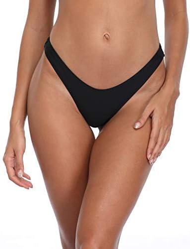 SoulCal/ Womens High Leg Bikini Bottoms Elasticated Waist