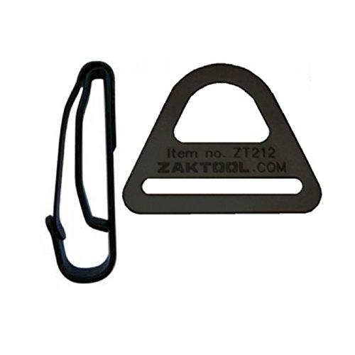 Zak Tool Belt Clip System Rapid Deployment for Drop Leg Thigh Rigs #ZT212-54